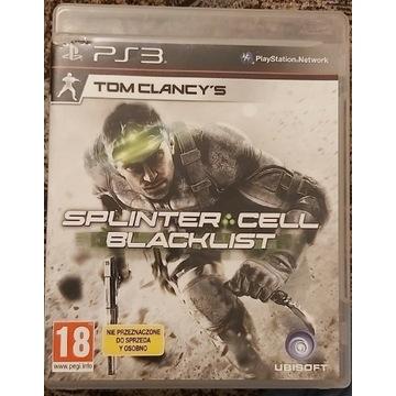 Tom Clancy's Splinter Cell Blacklist PS3 PL