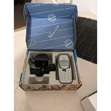 Nokia 3330 z pudełkiem wszystko zgodne