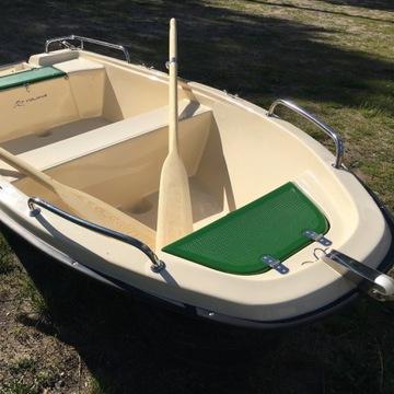 Łódź łódka wędkarska wiosłowa WYDRA 300 Producent