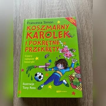 Koszmarny Karolek i pokrętne przekręty - książka