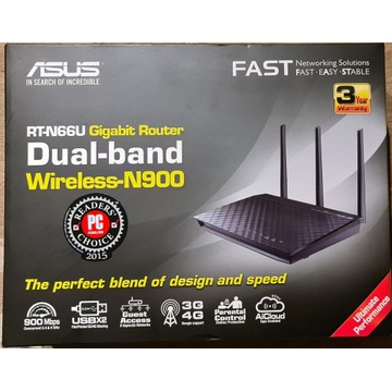ASUS RT-N66U Gigabit router