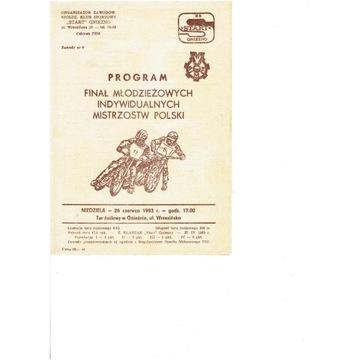 FINAŁ MIMP 1983 r Gniezno
