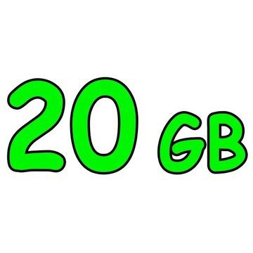 CHOMIKUJ TRANSFER   20 GB 30 DNI   BEZ AUTOMATU