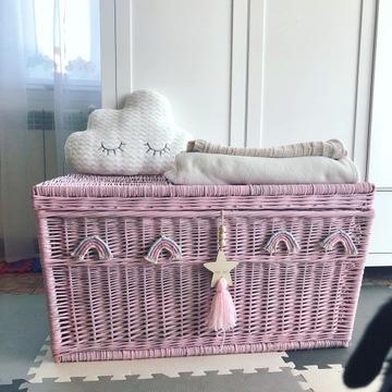 skrzynia na zabawki kufer pokój dziecka rękodzieł