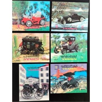 Motoryzacja - JEMEN** 1970 Imperf 3D