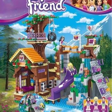 Klocki Domek na drzewie z LEGO Friends kompatybiln