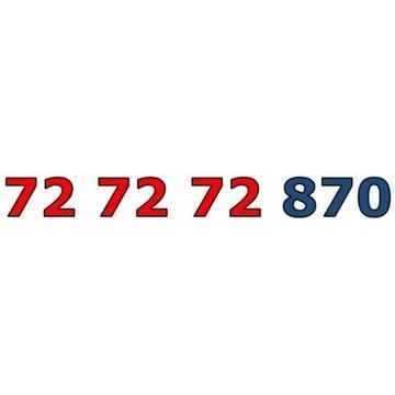 72 72 72 870 ZŁOTY ŁATWY NUMER STARTER