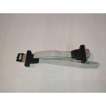 2x Adapter przejściówka IDC 10 D-SUB 9 DE-9