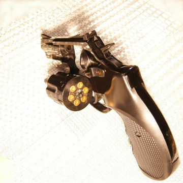 """Major Eagle 2,5"""" rewolwer, broń hukowa 6 mm"""