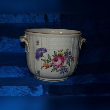 porcelanowa osłonka doniczki