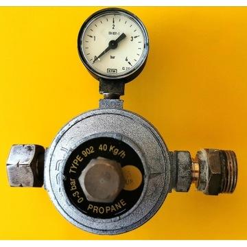 Reduktor 1 stopnia do propanu z butli RECA 0-3bary