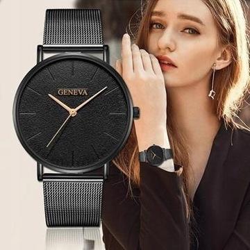 Efektowny zegarek damski
