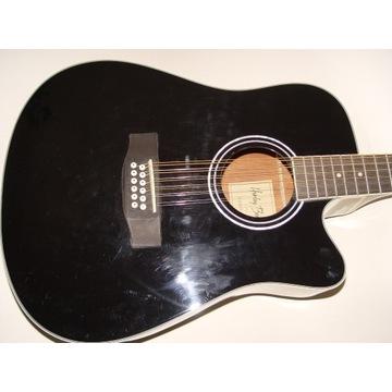 Gitara elektro-akustyczna - Harley Benton 12-strun