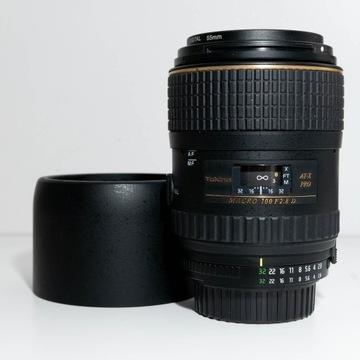 Obiektyw Tokina AT-X M 100 mm f/2.8 Pro D FX Macro