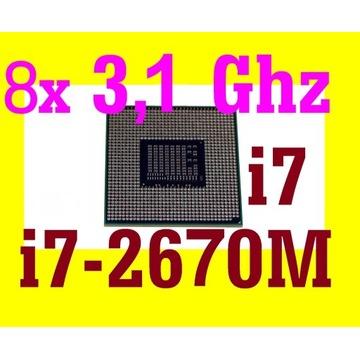 I7 2670M socket G2 sr02n ppga988 intel procesor i7