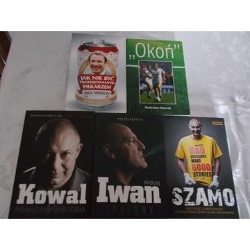 Zestaw -Kowal , Iwan - Spalony, Szamo,Okoń, Merson