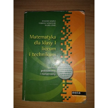 MATEMATYKA dla klasy 1 liceum - Kalina_SENS