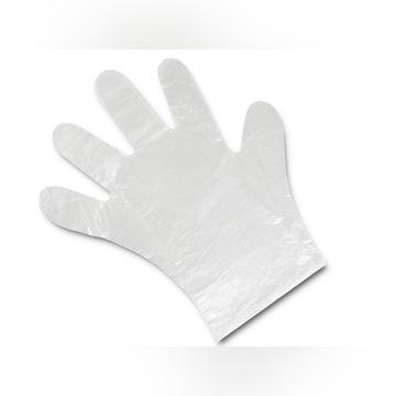 Foliowe  jednorazowe  na ręce HDPE  M 1000sz