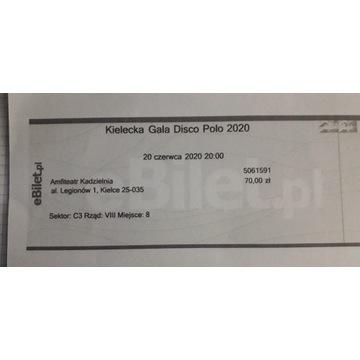 Bilety na Kielecką Galę Disco Polo 2020