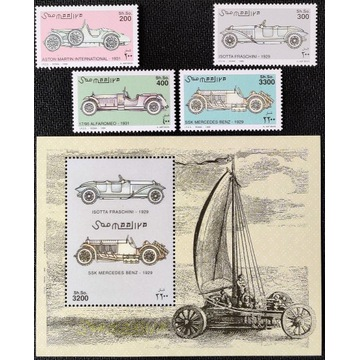 Motoryzacja - SOMALIA** 1999