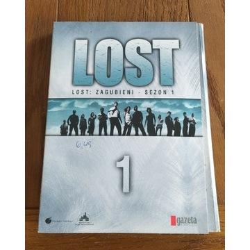 Lost : Zagubieni sezon 1 DVD