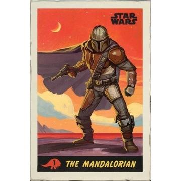 Plakat Star Wars: The Mandalorian  61,5x91