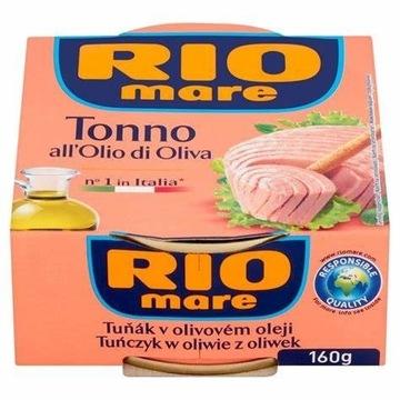 RIO MARE - tuńczyk w oliwie z oliwek 160 g