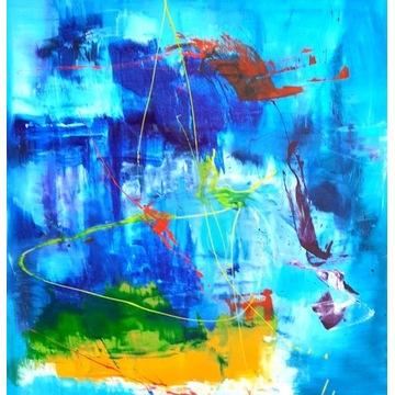 Przemyslaw Michalczuk obraz akrylowy 100x100 cm