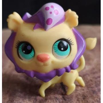 Littlest Pet Shop LPS unikat lew lion