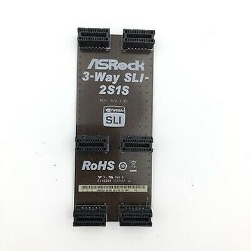 NVIDIA ASRock 3 - Way SLI - 2S1S