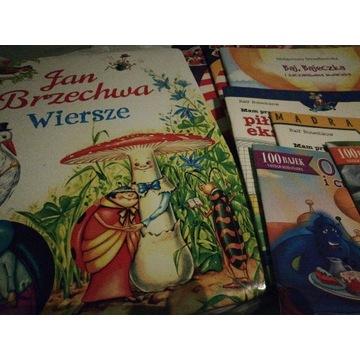 Zestaw 8 książek Bajki Wiersze Jan Brzechwa