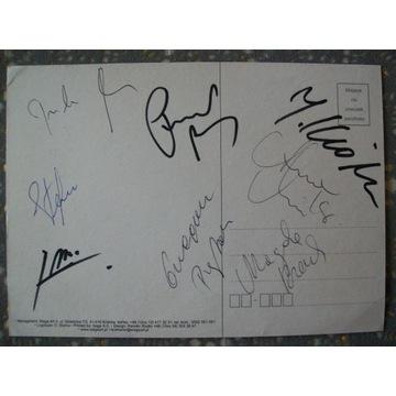 Brathanki - autografy