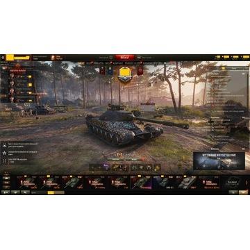 Konto wot T-22 Med. Type 59 e25 122 TM T44-100 ...