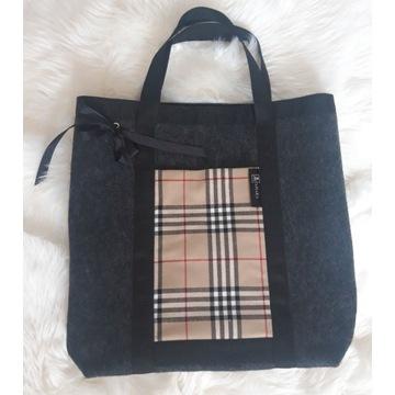 Elegancka torba na zakupy