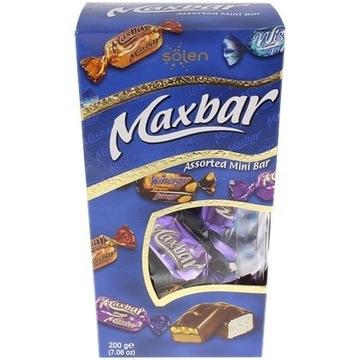 Czekoladowa mieszanka Maxbar 200 gramów