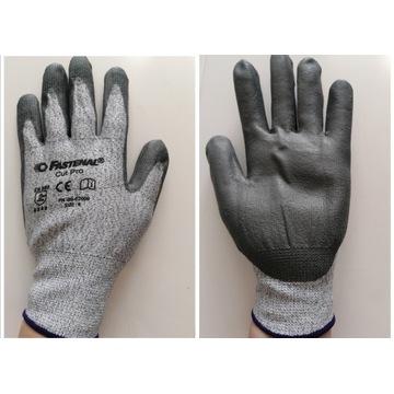 Rękawiczki rękawice robocze antyprzecięciowe r. 9
