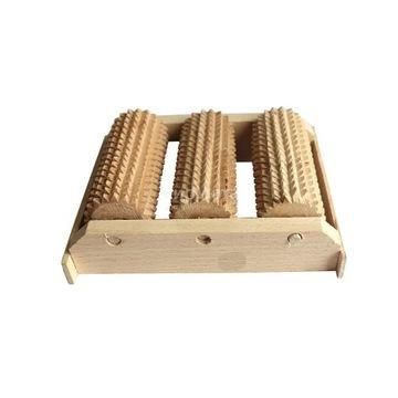 Masażer drewniany