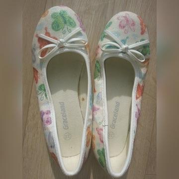 Buty typu baletki dla dziewczynki nr 32 Graceland