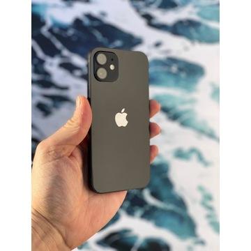 Telefon iPhone 12 64 GB jak nowy czarny