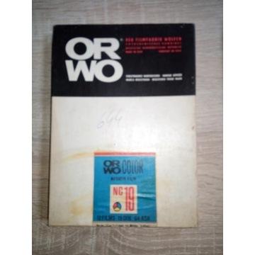 ORWO COLOR NC19 NEGATIV FILM 12 FILMS 13x18 NOWY