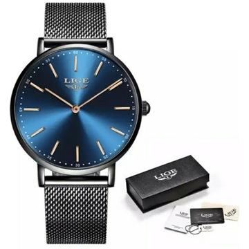 Zegarek damski bransoleta bransoletka złoty LIGE