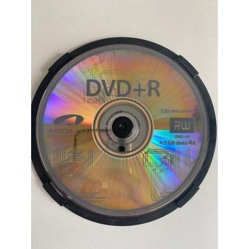 DVD + R 4.7gb 4x 120min 5 sztuk