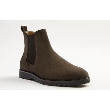 Buty skórzane Zara (nowe, z metką), rozmiar 41