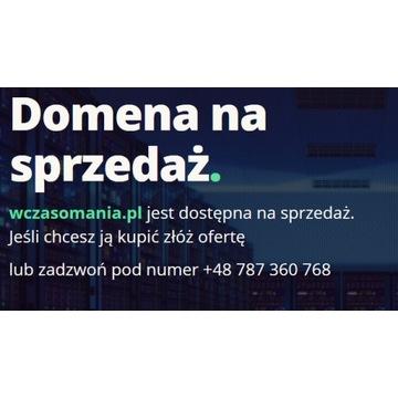 Domena wczasomania.pl