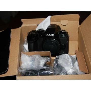 Lumix DMC-G80H, obiektyw, stan idealny, dodatki.