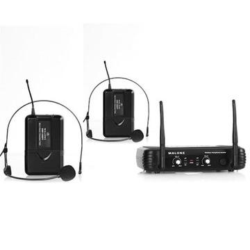 Zestaw mikrofonów bezprzewodowych UHF-250 Duo2