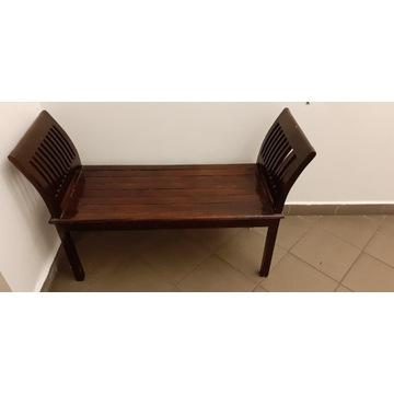 Siedzisko prostokątne nogi proste