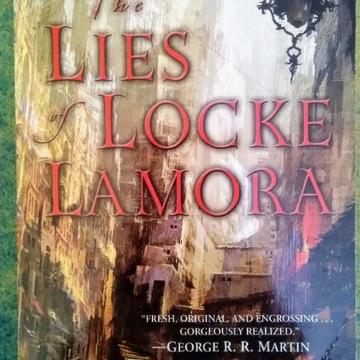 Scott Lynch The Lies of Locke Lamora książka