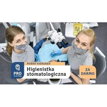 Higienistka stom. za 0 zł. Zapisz się teraz