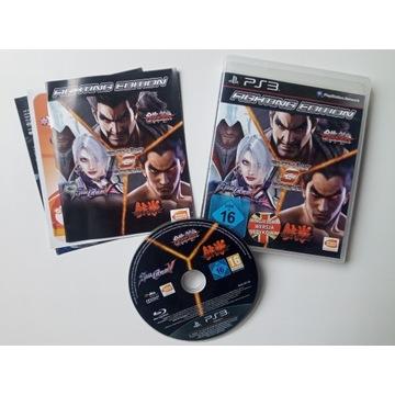 FIGHTING EDITION - 3 GRY PS3 TEKKEN 6, SOULCALIBUR